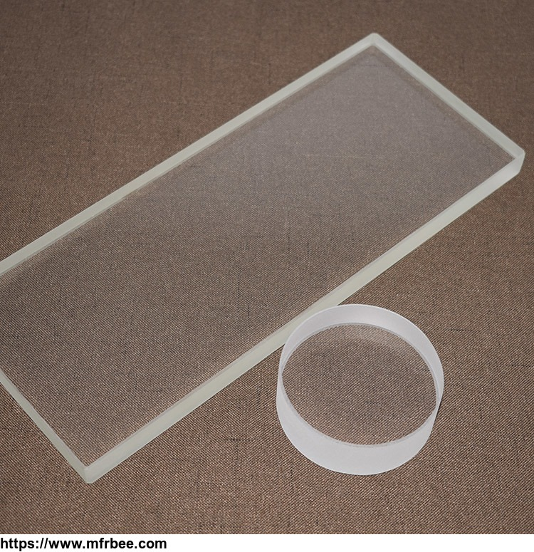 high_temperature_resistant_clear_quartz_glass_plate