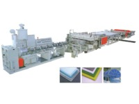pp sheet extrusion line PP Hollow Sheet Extrusion Line SJ120
