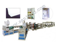 more images of PE Solid Sheet Extrusion Line SJ120