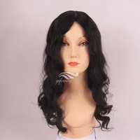 Best Custom Made Body Wave Human Hair Long Pony Kosher Sheitels/Shaitel/Shaital Wigs Brands in Israel