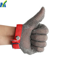 more images of High Quality Protection Safety Stainless Steel Chain Mail Gloves for Meat Processing