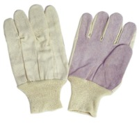 Low Price Knitted Protection Hand Working Glove