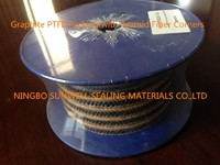 Graphite PTFE Packing with Aramid Fiber Corners