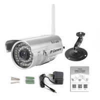 Sricam SP013 H.264 P2P bullet waterproof IP Camera Email alarm 4x digital zoom Outdoor ip camera