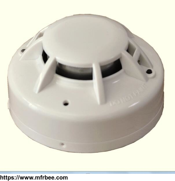 2_wire_conventional_photoelectric_smoke_detector_for_conventional_fire_alarm_system