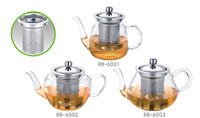 304 customized leisure high boron silicon bubble teapot