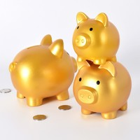 Promotional gift pig shape money box Piggy Bank for kids