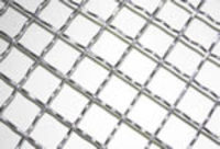 more images of crimped wire mesh