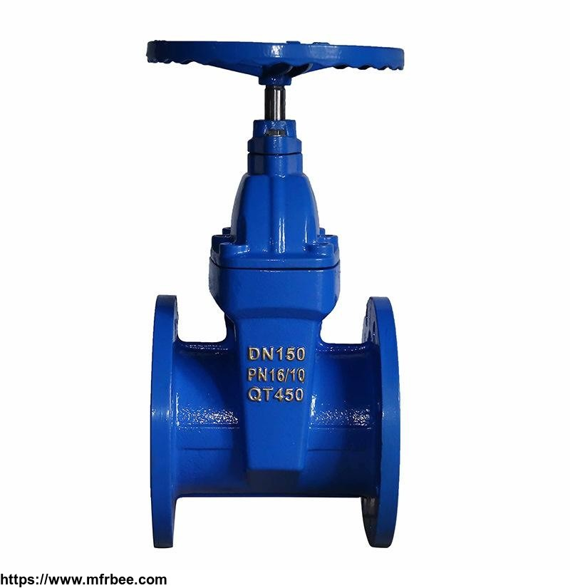 Z45X Series Blind Rod Resilient Seated Gate Valve