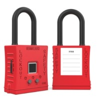 Smart Fingerprint Safety Padlock S201