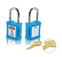 Steel Shackle Loto Safety Lockout Padlocks (201series)