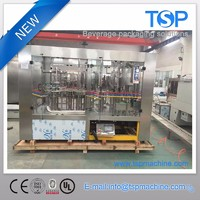 Carbonated sparkling mineral water glass packing machine Angola