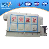 DZL Single Drum Horizontal Chain Grate Biomass-fired Hot Water Boiler
