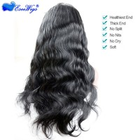 250% Density Lace Front Wigs Body Wave Glueless Lace Front Human Hair Wigs For Black Women Wavy Wig