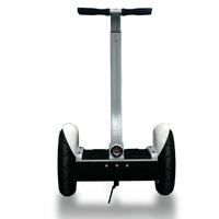self-balancing scooter with handrail