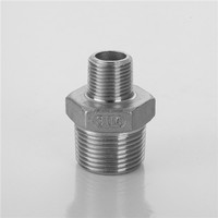 China customized Stainless steel reducing Hex Nipple manufacture