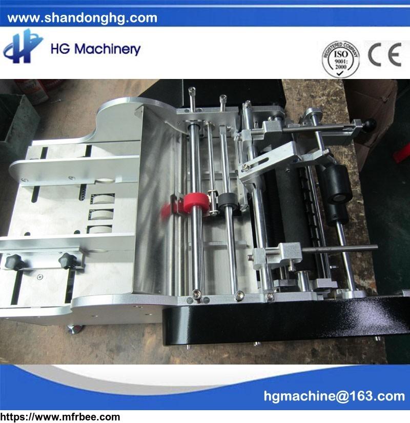 semi automatic label machine