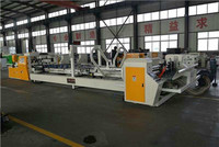 China automatic carton/paper box gluing folding/folder machine supplier