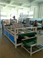 high speed semi-auto carton/paper box gluing folding/folder machine manufacturer