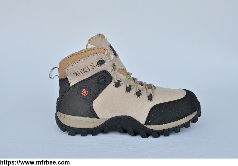 nubuck leather new design high quality safety shoes and high end work boots