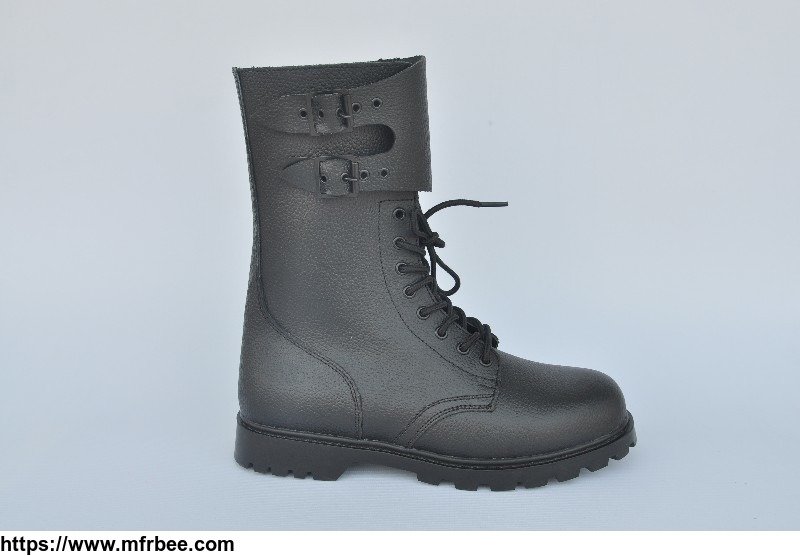 men_genuine_leather_black_army_boots_military_combat_boots