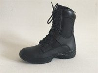 China wholesale Brand design high quality genuine leather delta force combat boots for military or army