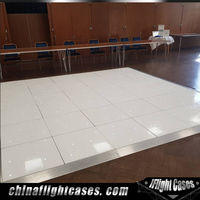 RK High quality white and black Acrylic dance floor for sale