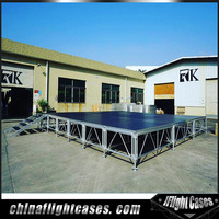 RK Concert Wooden Layer Stage with Aluminum Frame For Sale