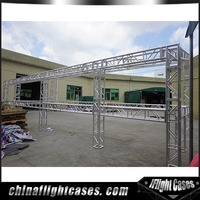 RK Heavy Duty Exhibition Truss System, Used Square Aluminum Truss Stand Display