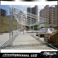 RK Design aluminum booth lighting stage truss display for sale