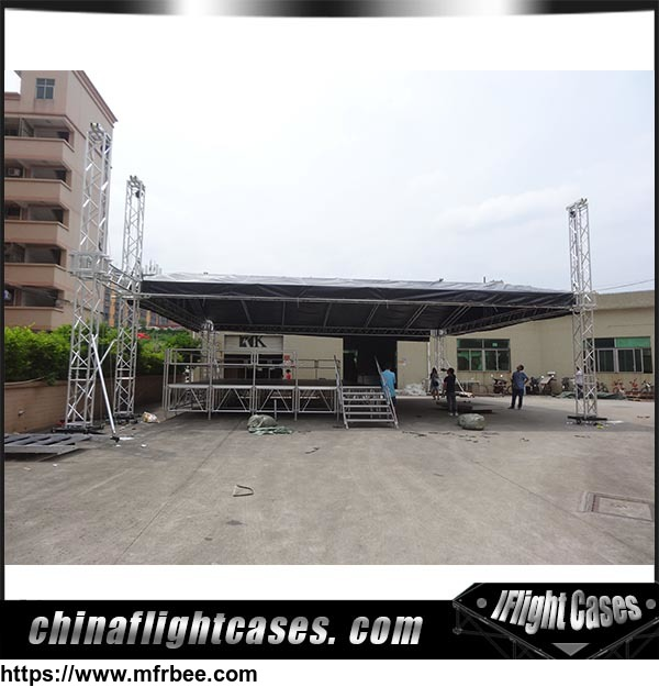 RK Factory Sale Dj Booth Stage Lighting Truss Tent display