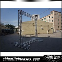 RK Small concert stage aluminum lift tower rotating lighting truss