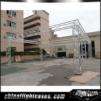 RK Outdoor concert screw truss stage / aluminium lighting truss