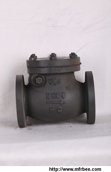 marine_cast_iron_swing_check_valve_jis_f_7372_5k