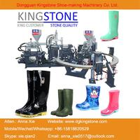 Kingstone Rotary 1/2/3 Color PVC/TPR Rain Boots Injection Moulding Machine