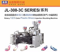 Kingstone Rotary 3 Color Plastic Shoes Air Blowing Moulding Machine