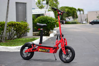 "HYPER-RACING STREET EDITION 1600w 48v Electric Scooter 10"" (Red)"