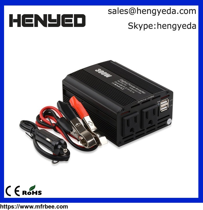 300w_car_12v_to_110v_power_inverter_usb_port_car_power_converter