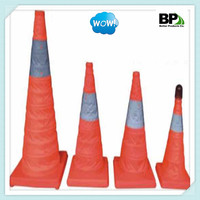 Reflective Collapsible LED Light Traffic Cone