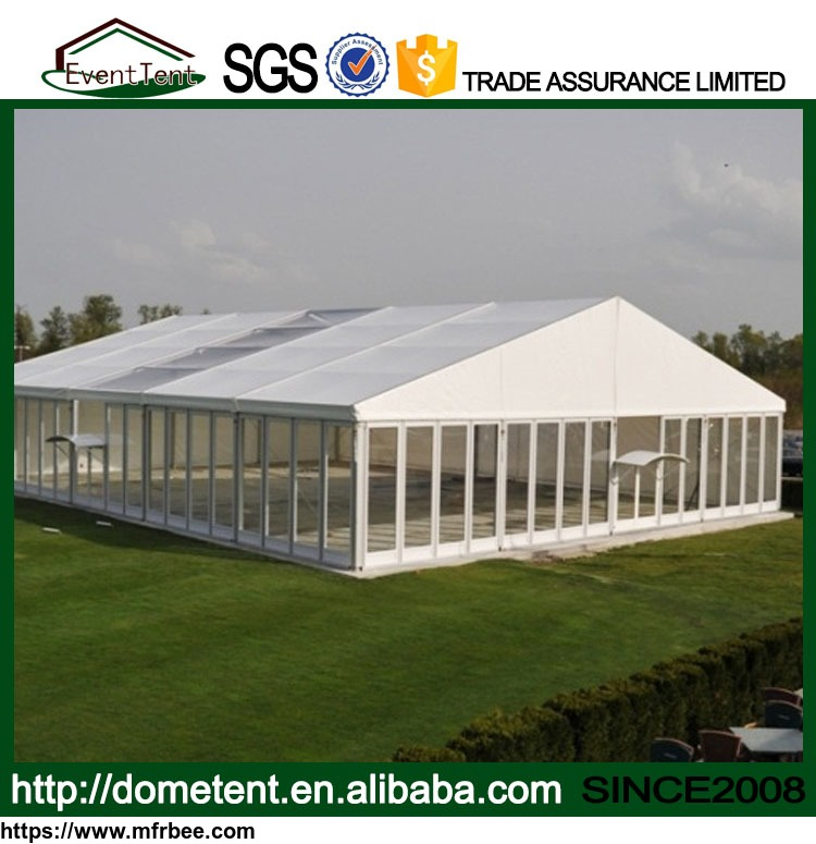 Luxury Clear Roof Wedding Glass Tent For Sale
