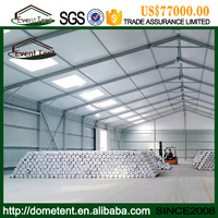 Clear Span 40m Large China Outdoor Warehouse Tent For Storage