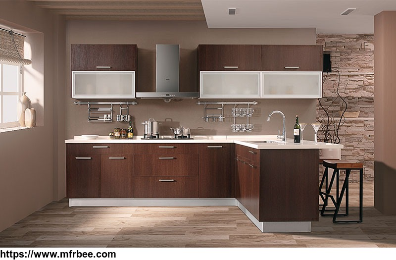 Classic Dark Wood Wenge Nature And Brown Oak European Style