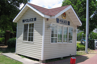 Light Steel Structure Building for Mini Room-Special Police Booth