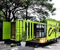 Mobile/Movable Prefabricated/Prefab Container House for Living