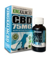 CBD for Dogs | 75 mg King Kalm™ CBD | 30-Day Money-Back Guarantee