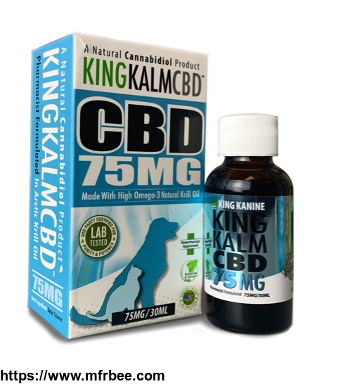 King Kalm 75 mg CBD for Dogs | Visit King Kanine
