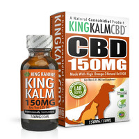 King Kanine CBD for Dogs | 150 mg Medium Size Pet Formula