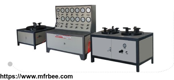 Safety Relief Valve Test and Calibration Bench