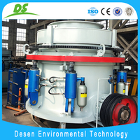 high quality hydraulic cone crusher machine used in sand production line