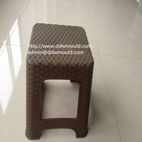 DDW Plastic Rattan Chair Mold Rattan Plastic Chair Mold Garden Plastic Rattan Chair Mold